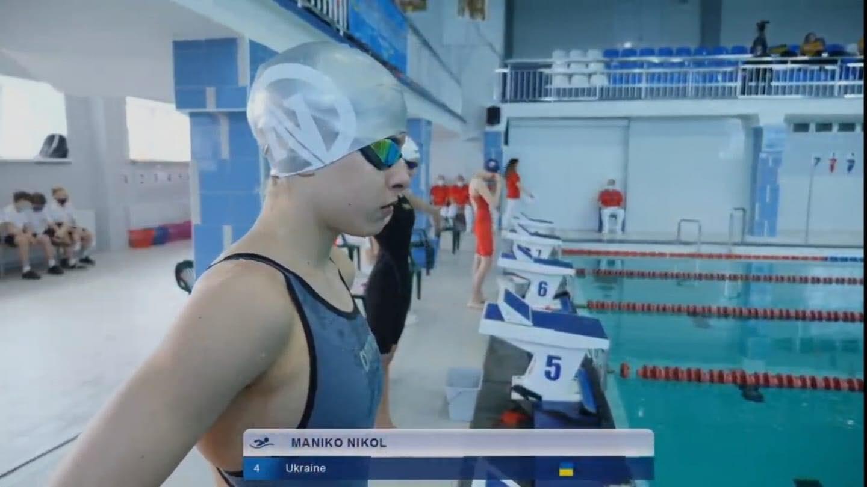 Плавчиня з Ужгорода виборола нагороди на міжнародних змаганнях