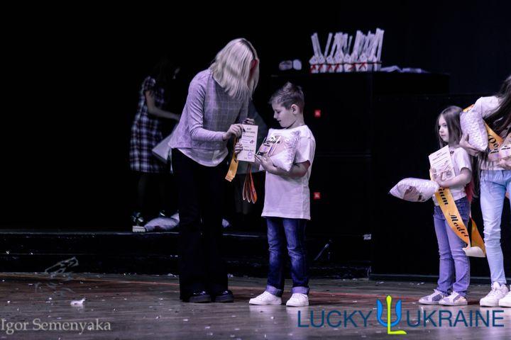 7-річний Євген Смерековський з Ужгорода продовжує перемагати на престижних подіумах