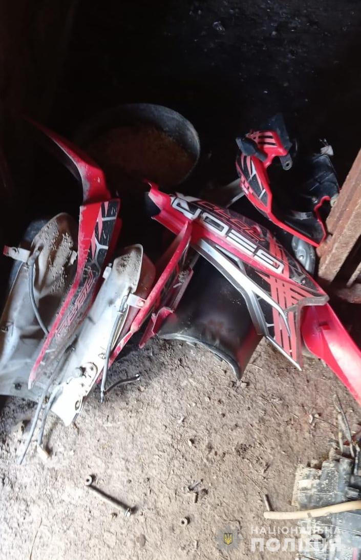 """У Рахові тестуючи мотоцикл, """"покупець"""" поїхав на ньому геть і не повернувся"""