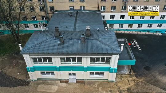 У Хусті незабаром відкриють оновлене приймальне відділення районної лікарні