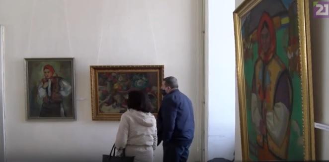 У обласному художньому музеї в Ужгороді експонується виставка творів Андрія Коцки із приватних колекцій