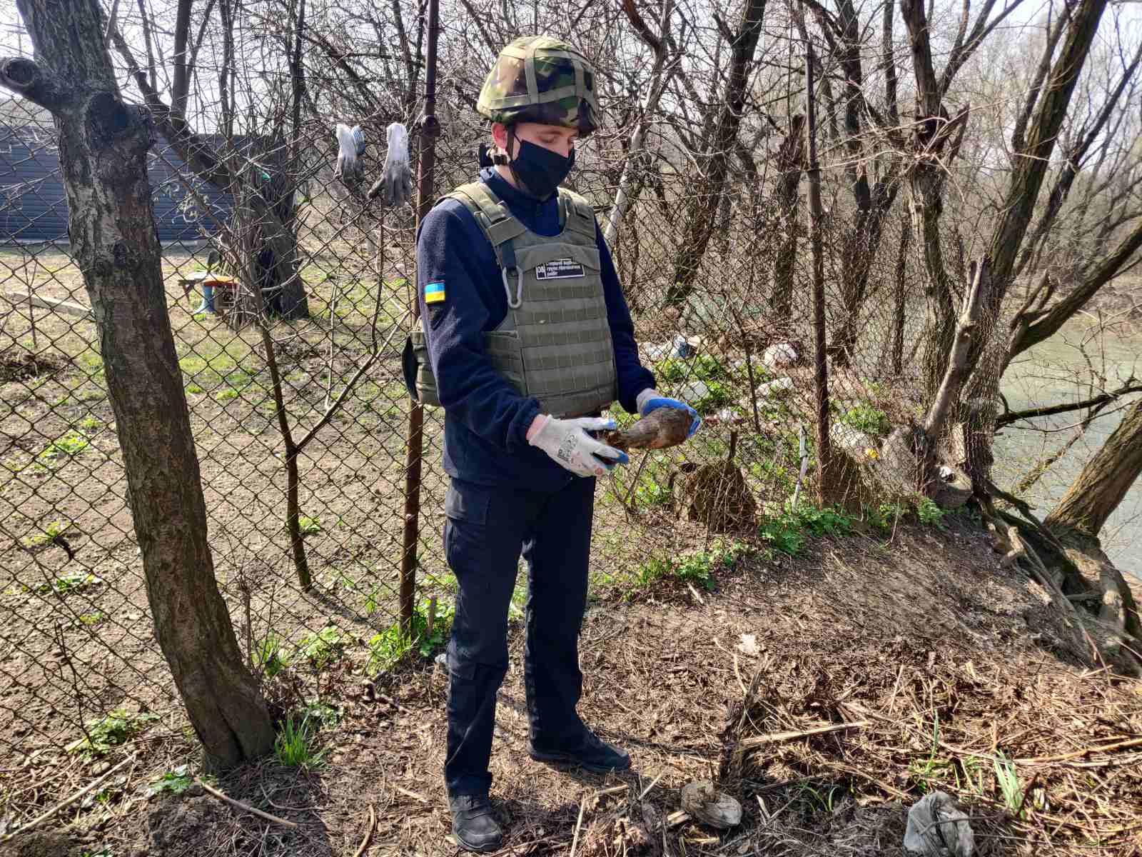 Протягом доби на Ужгородщині двічі знаходили вибухонебезпечні предмети