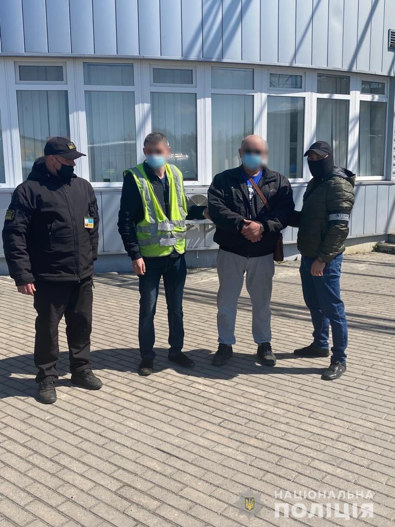 На Закарпатті прикордонники затримали правопорушника, якого розшукував Інтерпол