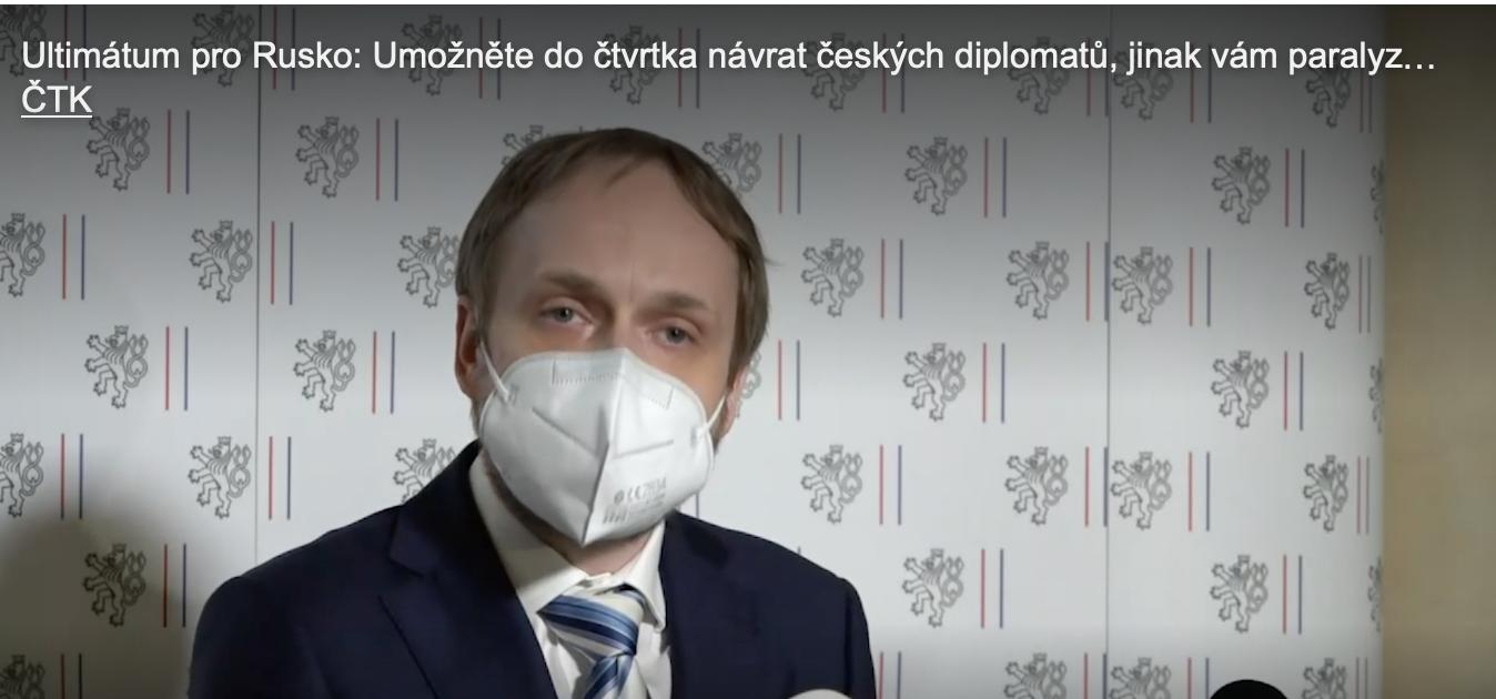 Чехія вишле ще 60 російських дипломатів