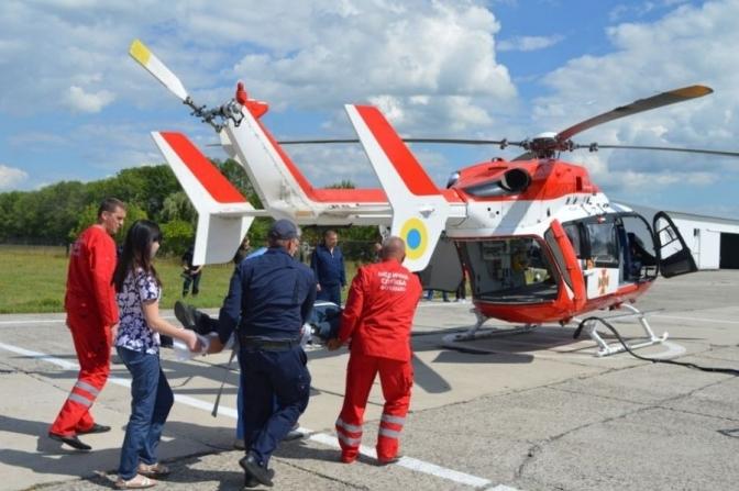 У Закарпатській області буде медичний гелікоптер
