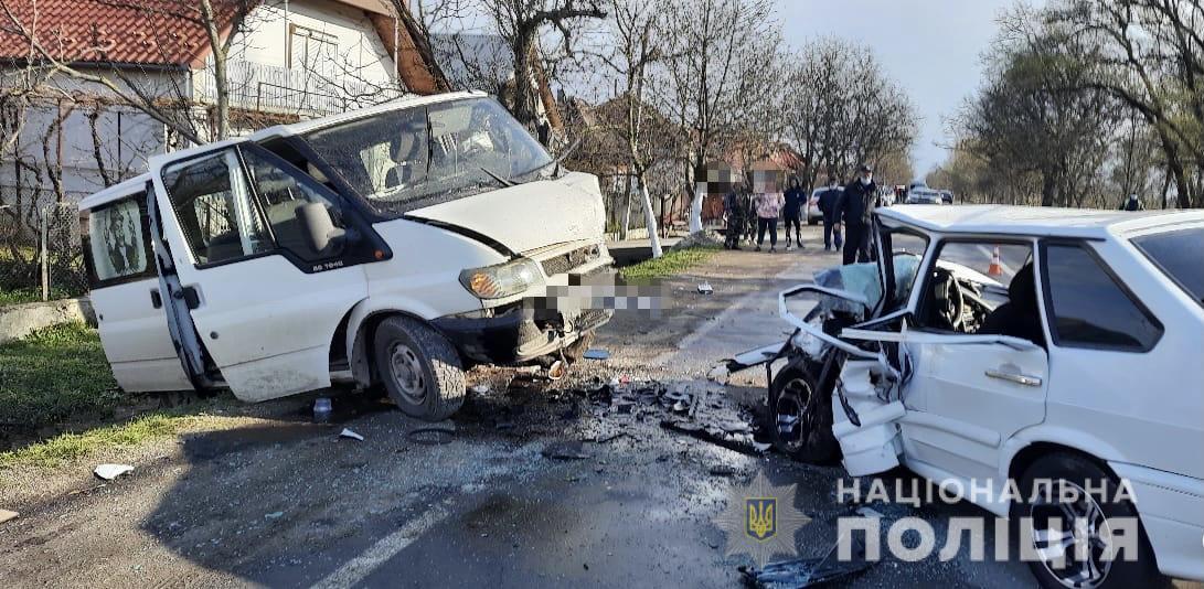 На Берегівщині зіткнулися дві автівки – один загиблий і троє травмовані