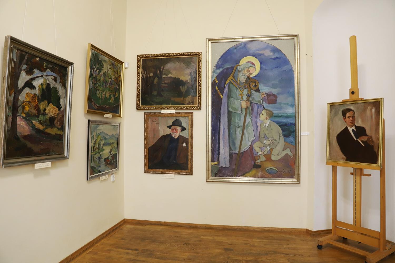 Ювілейну виставку робіт Адальберта Ерделі відкрили в Ужгороді