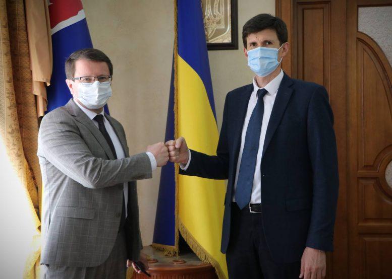 Анатолій Полосков представив заступника голови Закарпатської ОДА – Петра Добромільського