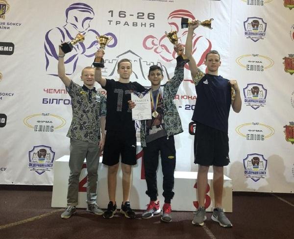 Юні боксери із Закарпаття стали срібними та бронзовими призерами всеукраїнського чемпіонату