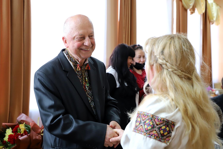 В Ужгородській центральній міській бібліотеці відбувся творчий вечір до 80-річчя видатного фольклориста Івана Хланти