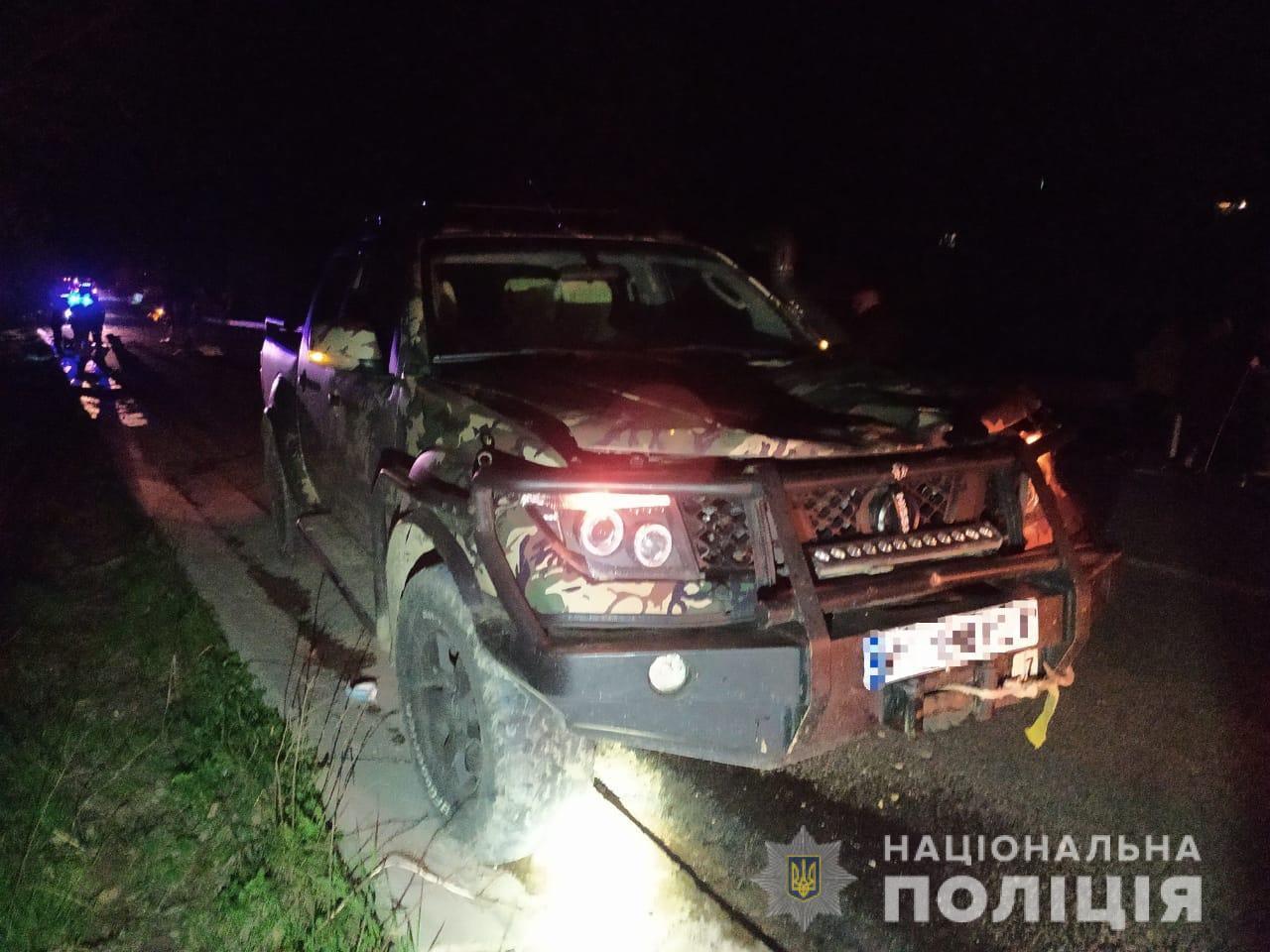 На Рахівщині водій мотоблоку загинув, потрапивши під колеса позашляховика