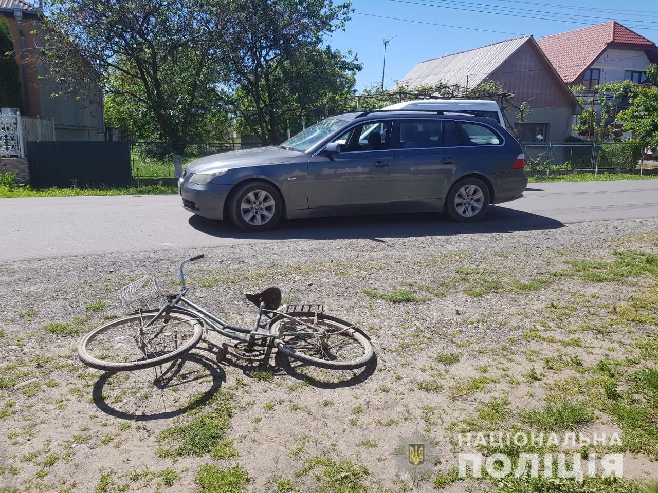 На Виноградівщині водій BMW збив насмерть пенсіонерку