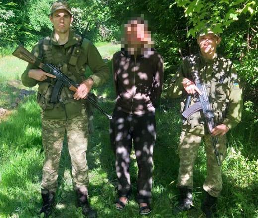 Закарпатські прикордонники затримали поляка, що вже утретє намагався потрапити в Україну поза пунктами пропуску