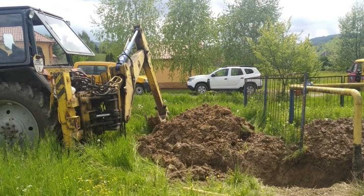 Через корозійне пошкодження газопроводу майже 1000 споживачів на Свалявщині залишилися без газу