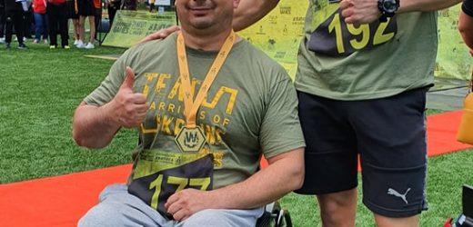 Закарпатські ветерани-інваліди АТО-ООС завоювали 6 медалей на Warrior Games: Team Ukraine