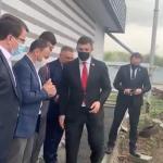 Тищенко під час поїздки на Закарпаття змушував главу митниці казати, що «угорці наші друзі» (відео)