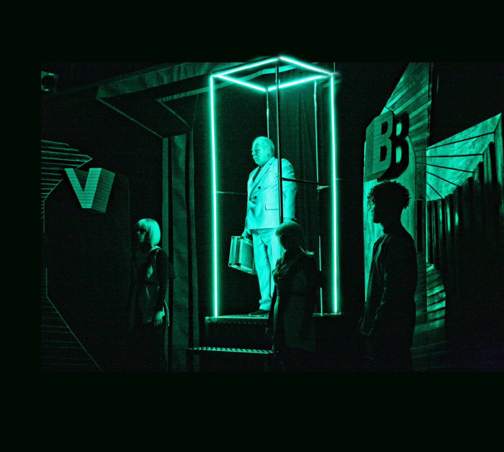 """У Закарпатському облмуздрамтеатрі показали химерну драму """"Готель між двох світів"""""""