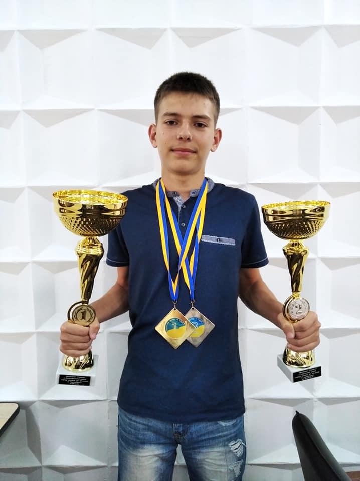 Юний шахіст із Закарпаття став чемпіоном України з бліцу до 18 років