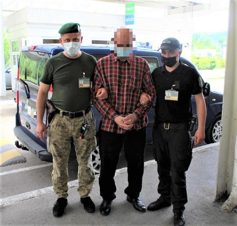 Закарпатські прикордонники затримали громадянина Румунії, розшукуваного Інтерполом за вбивство