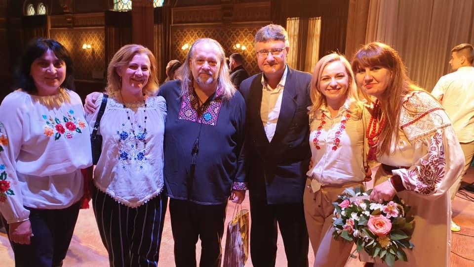Відомий закарпатський співак Олександр Садварій відзначив 50-річний ювілей