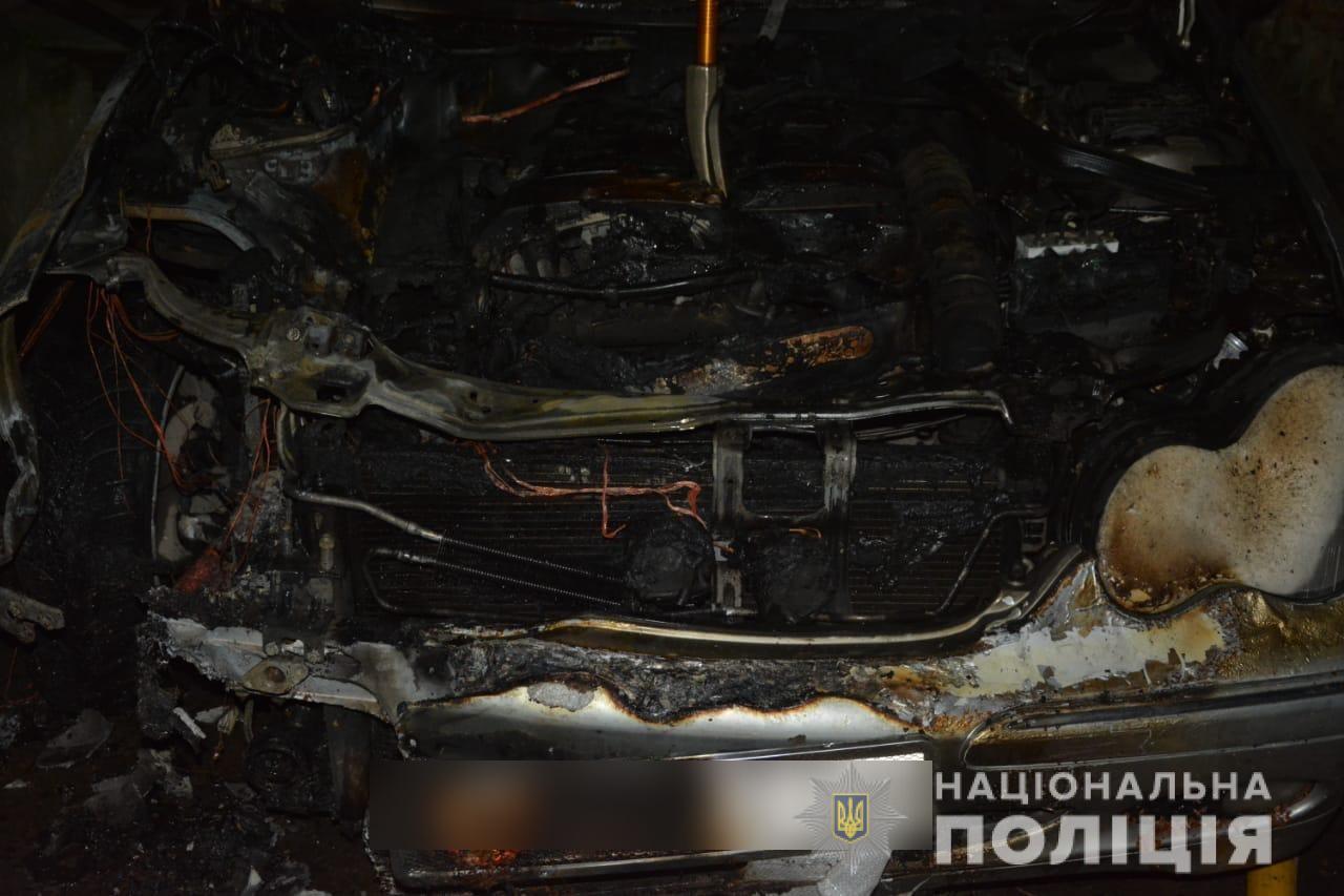 У Тячеві чоловік спалив автомобіль колишньої дружини