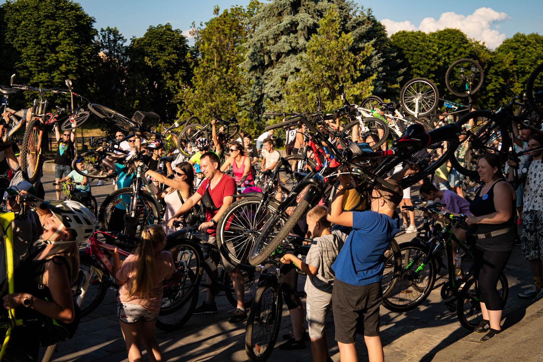 """Велозаїзд """"Big City Ride"""" відбувся в Ужгороді"""