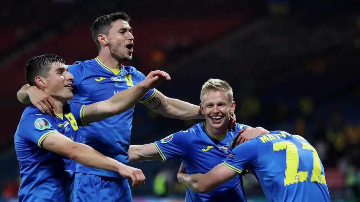 Україна здолала Швецію і виходить в 1/4 Чемпіонату Європи з футболу (відео)
