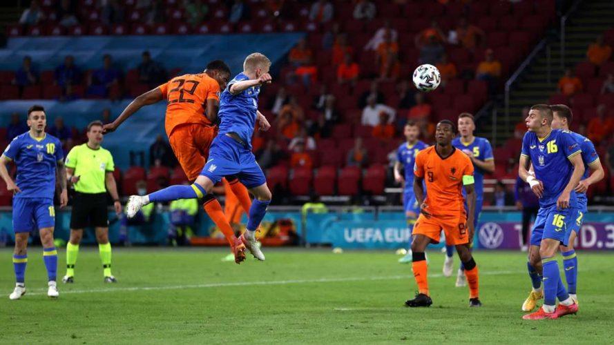 Україна в драматичному матчі з рахунком 2:3 поступилася Нідерландам (відео)