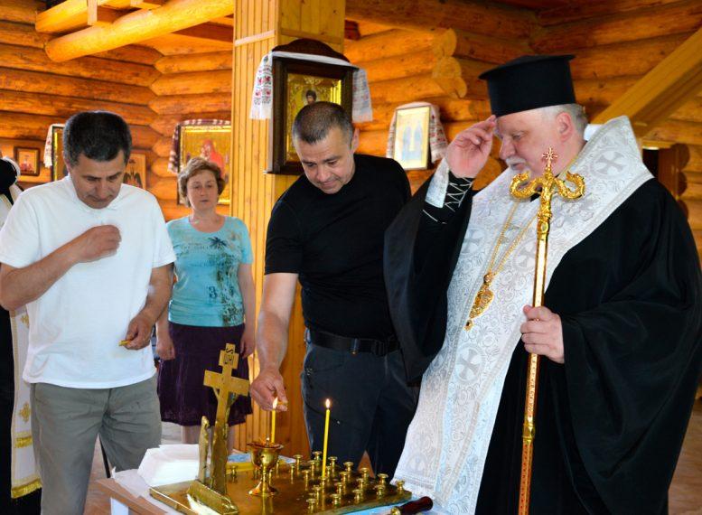 Єпископ Мукачівський і Карпатський Віктор Бедь відслужив літію за українським патріотом Василем Вайнагієм
