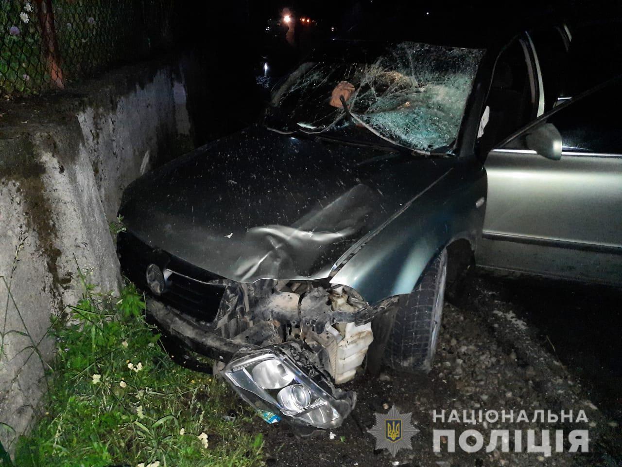 На Рахівщині автомобіль збив насмерть пішохода, що переходив дорогу