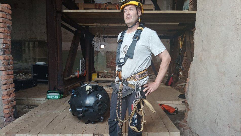 У соляну шахту Солотвина на Закарпатті запустили робота для перевірки природних ресурсів (ФОТО)