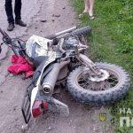 Два мотоцикли, керовані підлітками, зіткнулися на Хустщині – один з водіїв загинув
