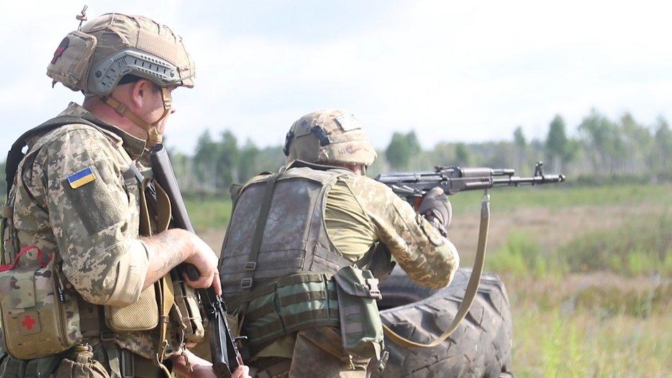 На змаганнях стрілецьких взводів територіальної оборони перемогу здобули закарпатці