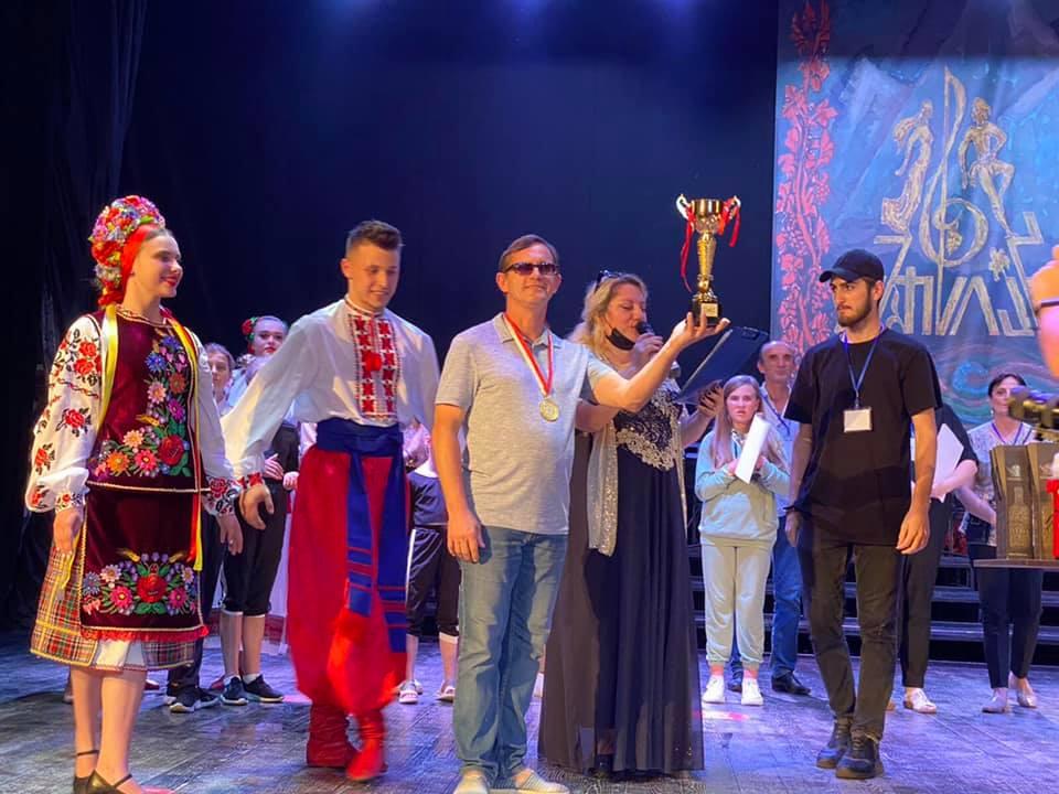 """""""Кольори Карпат"""" з Ужгорода здобули Гран-прі Міжнародного фестивалю в Грузії  «Золоте літо- 2021»"""