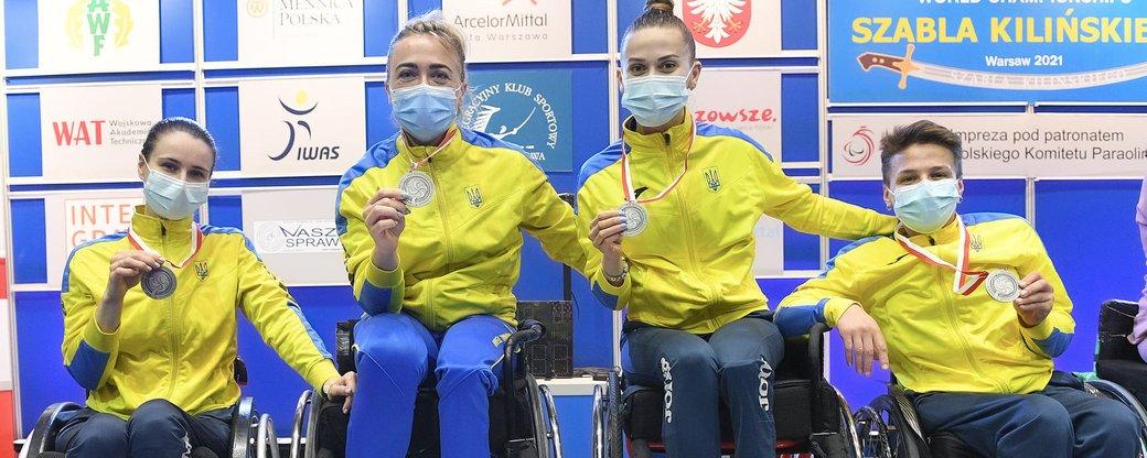 Ужгородська спортсменка Надія Дьолог виборола друге місце на Чемпіонаті світу з фехтування на візках