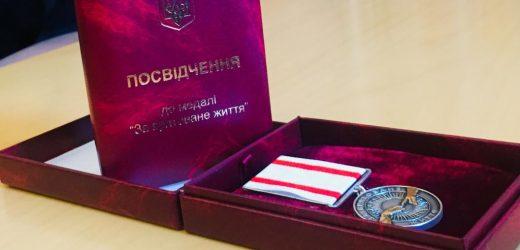 12-річну дівчинку з Рахівщини, яка під час повені врятувала чотирьох дітей, Президент України нагородив медаллю