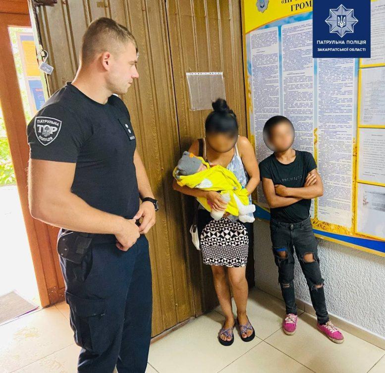 В Ужгороді ромка з грудною дитиною викрала жіночу сумочку