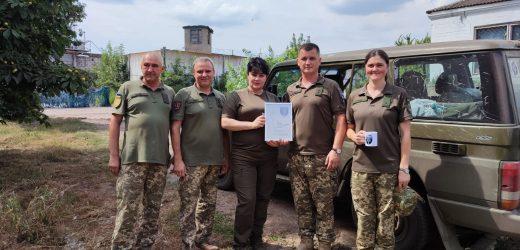 Військовослужбовців Закарпатського Легіону відвідала керівник експертної групи Міністерства оборони Лариса  Родченко