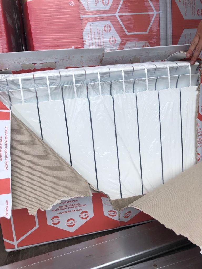 Закарпатські митники попередили незаконне ввезення в Україну радіаторів вартістю понад 2,3 млн грн