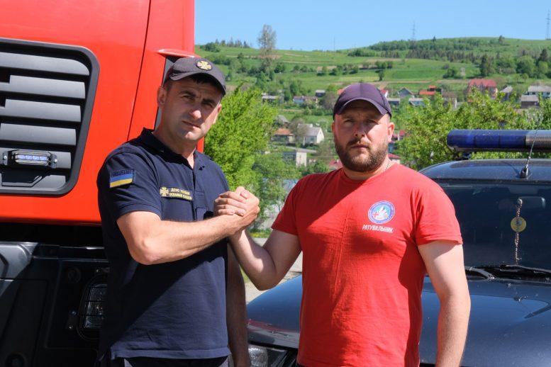 Брати-супермени з ДСНС Закарпаття рятують людські життя