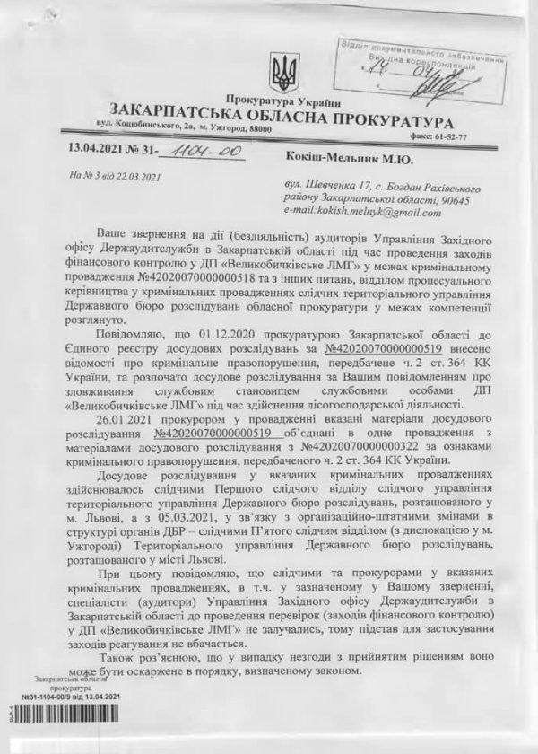 """ДБР затягує розслідування справ лісової """"мафії"""" Закарпаття"""