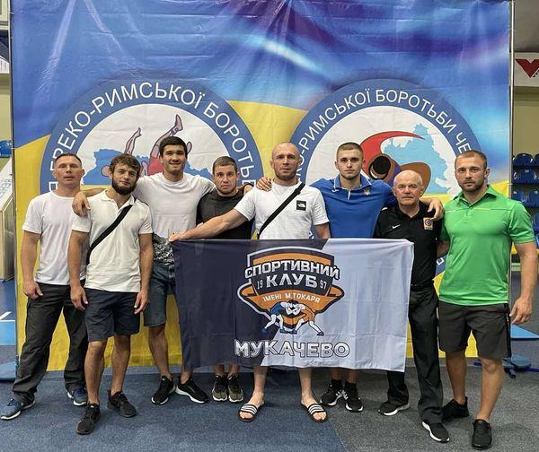 Три призових місця на загальноукраїнських змаганнях з греко-римської боротьби здобули закарпатські спортсмени