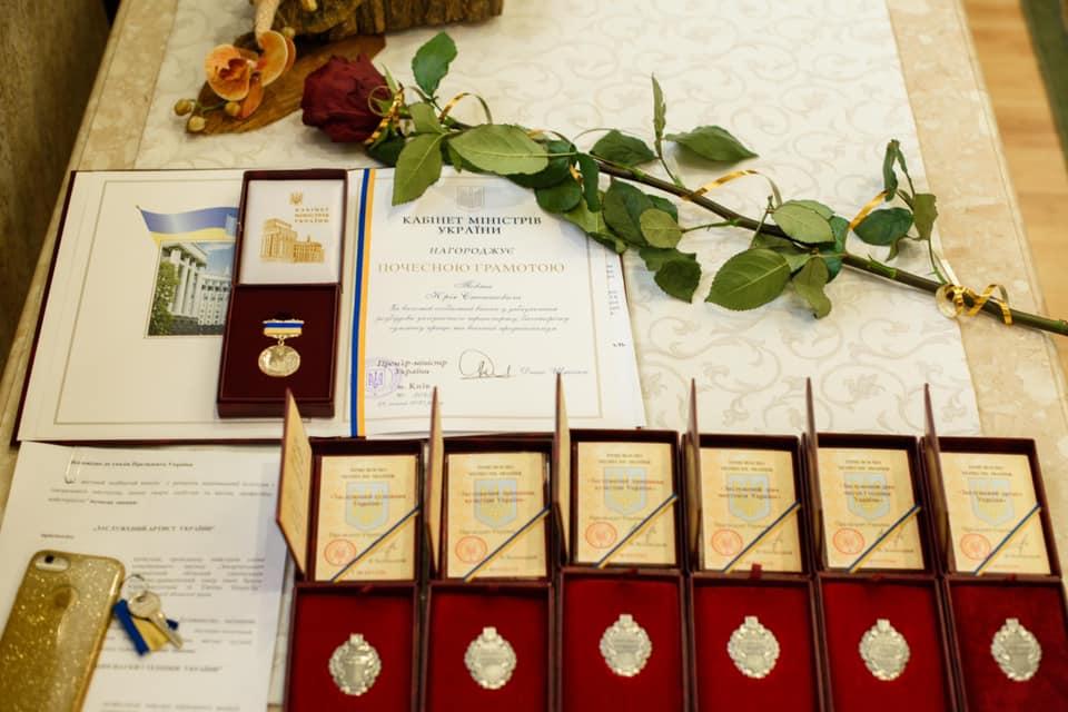 До 30-ї річниці незалежності України видатних закарпатців відзначили державними нагородами