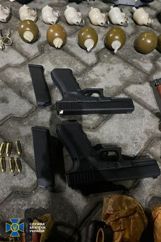 СБУ викрила незаконного торговця зброєю на Закарпатті