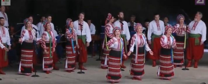 У Берегові виступив Національний заслужений академічний український народний хор імені Г. Верьовки