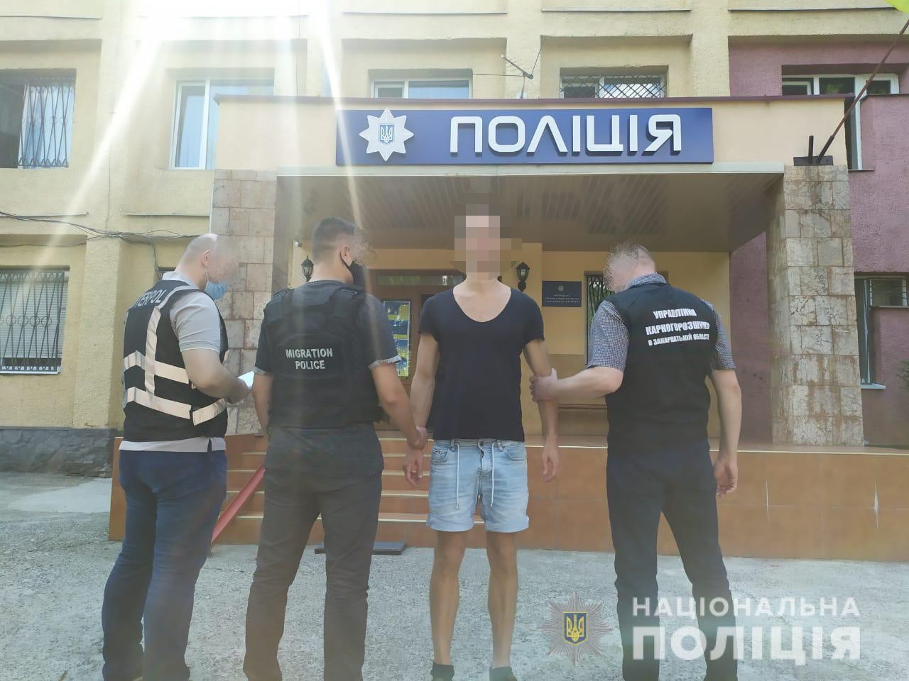 Люксембуржця, розшукуваного Інтерполом за злочин в Австрії, затримали в Ужгороді