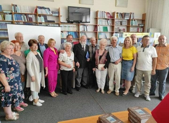 В Ужгороді презентували нову книжку Миколи Мушинки
