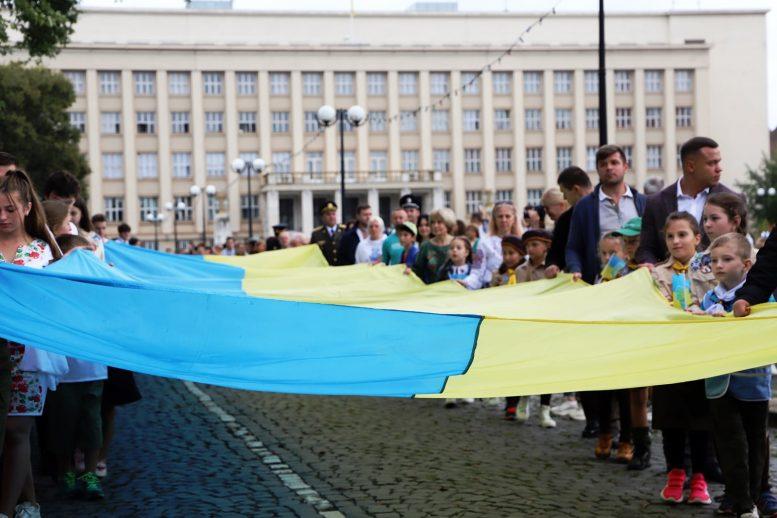В Ужгороді масштабно відзначили 30-річчя відновлення Незалежності України
