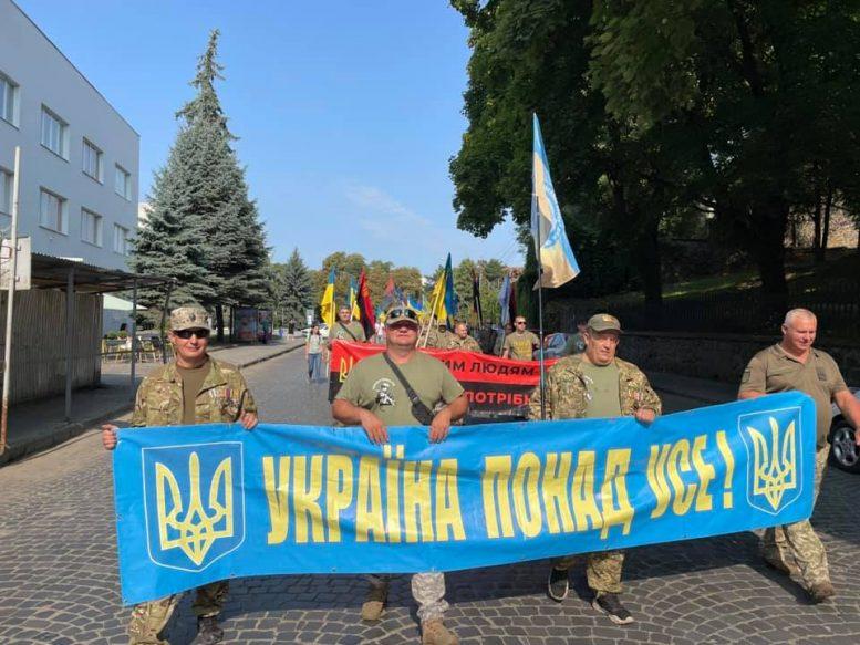 """В Ужгороді """"Загартовані війною"""" вшанували пам'ять полеглих побратимів (відео)"""