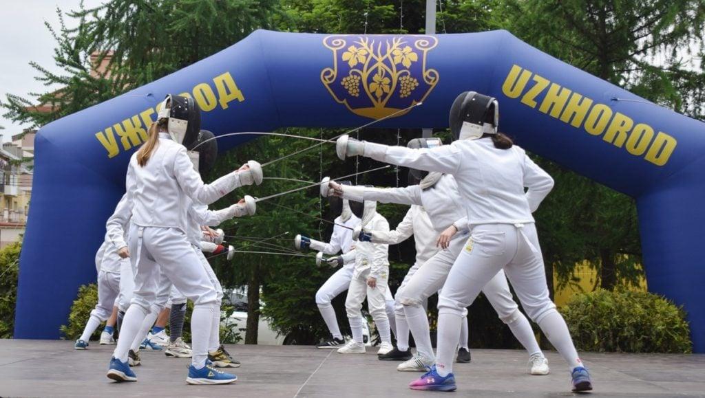 До Дня фізичної культури і спорту та Дня міста в Ужгороді проведуть відкриті тренування з різних видів спорту